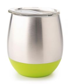 Insulated Stainless Steel Tumbler, 8 oz., Lime