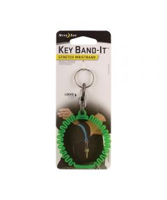 Key Band-It Stretch Wristband with S-Biner, Lime
