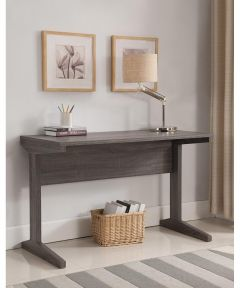 47.25 in. Wide Writing & Computer Desk, Gray