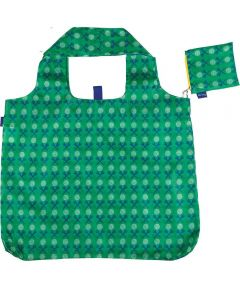 Golf Green Blu Bag  Reusable Shopping Bag with Storage Pouch