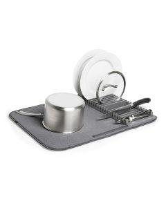 UDRY Drying Mat & Rack, Charcoal