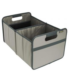 Classic Large Foldable Storage Box in Solid Stone Grey