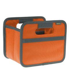 Classic Mini Foldable Storage Box in Solid Tangerine Orange