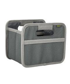 Classic Mini Foldable Storage Box in Solid Granite Grey