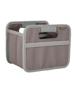 Classic Mini Foldable Storage Box in Solid Palm Taupe