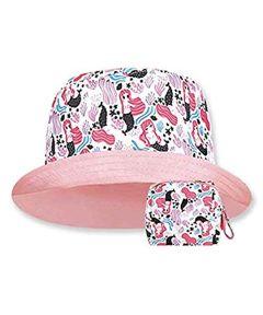 Floppy Top Little Sun/Rain Kids Hat with 50+ UV Protection, Mermaid Design