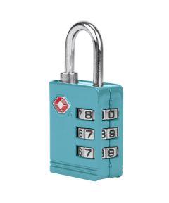 TSA Luggage Lock, Aqua