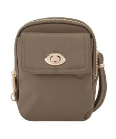 Anti-Theft Crossbody Phone Pouch, Sable