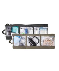 2 Pack Accessory Organizer, Black/Nutmeg