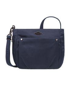 Anti-Theft Expansion Crossbody Bag, Navy