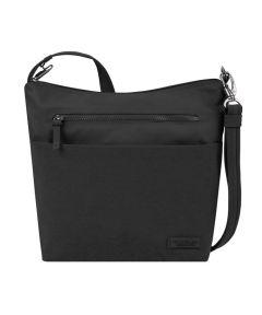 Anti-Theft Metro Crossbody Bag, Black