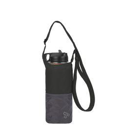 Packable Water Bottle Tote, Black