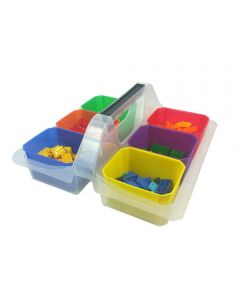 Small Organization Caddy with 6 Containers