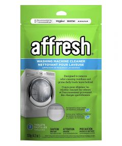 Affresh Washing Machine Cleaner Tablets, 3 Pack