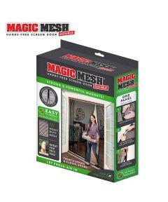 Double Door Magic Mesh Hands-Free Magnetic Screen Door