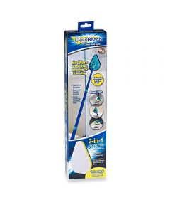 Clean Reach Cleaning Pads / Mop Kit with Telescopic Pole