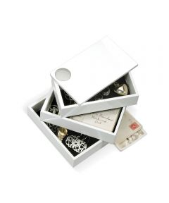 Spindle Stacked & Rotating Jewelry Storage Box