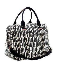 Rita Black Overnighter Bag
