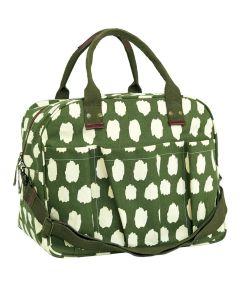 Hadley Olive Overnighter Bag