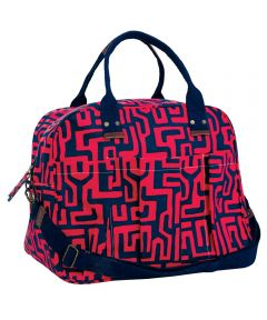 Jess Magenta Overnighter Bag