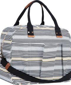 Bethany Black Overnighter Bag
