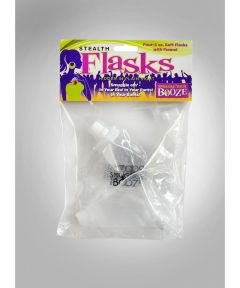 Smuggle Your Booze Stealth Flask 4x4 oz. Soft Flasks