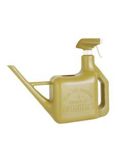 Spray Sprinkler Watering Can & Spray Bottle, Olive
