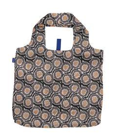 Lana Black Blu Bag Reusable Shopping Bag with Storage Pouch