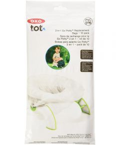 OXO Tot 2-in-1 Go Potty Refill Bags, 10 Pack