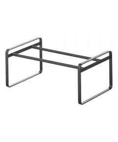FRAME Series Steel Expandable and Stackable Shoe Rack, Black