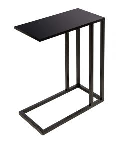 C End Table, Black