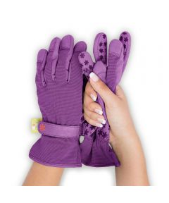Dig It® Small/Medium Garden Gloves, Purple
