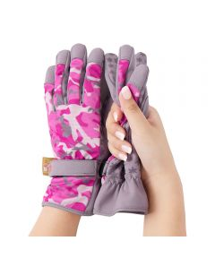 Dig It® Extra-Large Garden Gloves, Pink Camo