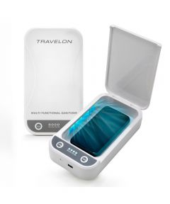 Travelon Portable UV Sanitizer Box with USB Adapter