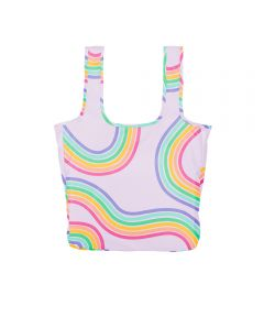 Twist and Shout Reusable Large Tote, Emotional Roller Coaster
