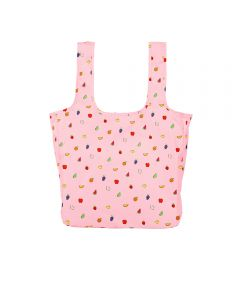Twist and Shout Reusable Large Tote, Fruit Punch