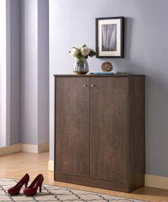 Shoe Cabinet, Hazelnut