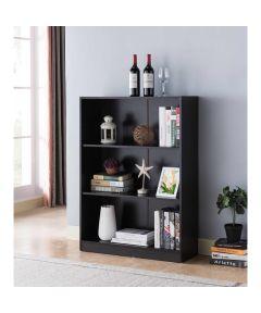 3-Shelf Bookcase, Red Cocoa