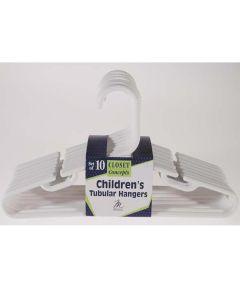 Children's Tubular Hanger, 10 Count