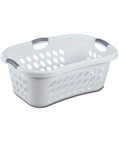 White Hip Holder Laundry Basket