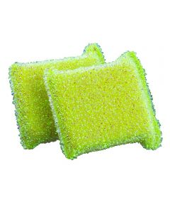 Glass & Non-Stick Safe Sparkle Sponges, 2 Pack, Assorted Colors