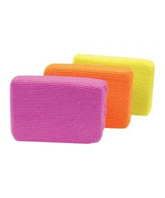 Microfiber Sponges, Multi-Color 3 Pack