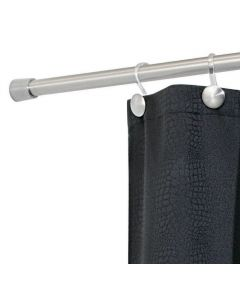 Forma Shower Curtain Tension Rod, 50-87 Inches, Stainless Steel
