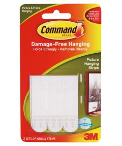 Medium Command Adhesive Removable Interlocking Fasteners