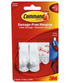 Small Hooks With Command Adhesive