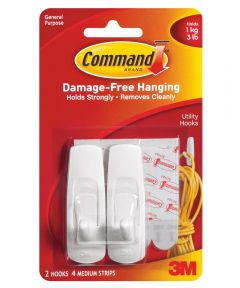 Medium Hooks With Command