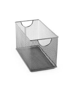Mesh CD Box, Silver