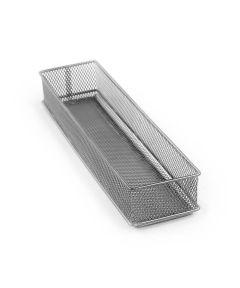 Mesh 3x12 Drawer Store Organizer Tray, Silver