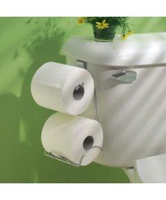 Hanging Over-the-Tank Toilet Tissue Holder Plus, Chrome Finish
