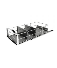 9 Inch Pull-Out Cabinet Organizer, Heavy-Gauge Steel